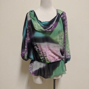 3for$20 blouse colorful